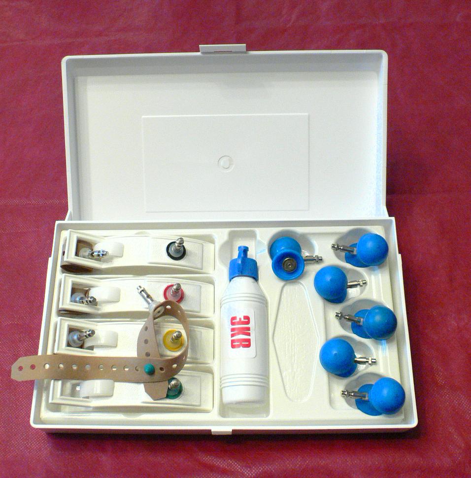 Электроды ЭКГ многоразовые  в наборе для детей от 0 до 10 лет