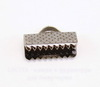 Концевик для лент 13 мм (цвет - черный никель), 10 штук ()