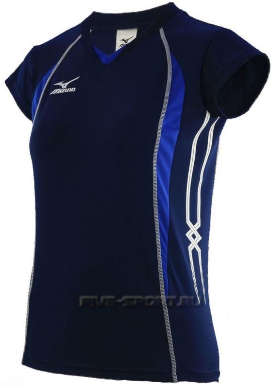 Mizuno Premium W's Cap Sleeve Футболка волейбольная - купить в Five-sport.ru 79TW150 14
