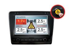Датчики давления в шинах (TPMS) для легковых автомобилей ParkMaster TPMS 4-01 с 4-я встраиваемыми датчиками