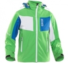 Лыжная куртка 8848 Altitude - Pipestone Junior Softshell Green детская