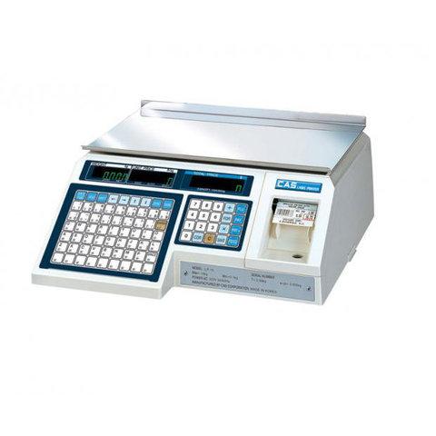 Весы с печатью этикеток CAS LP-30 (1.6)