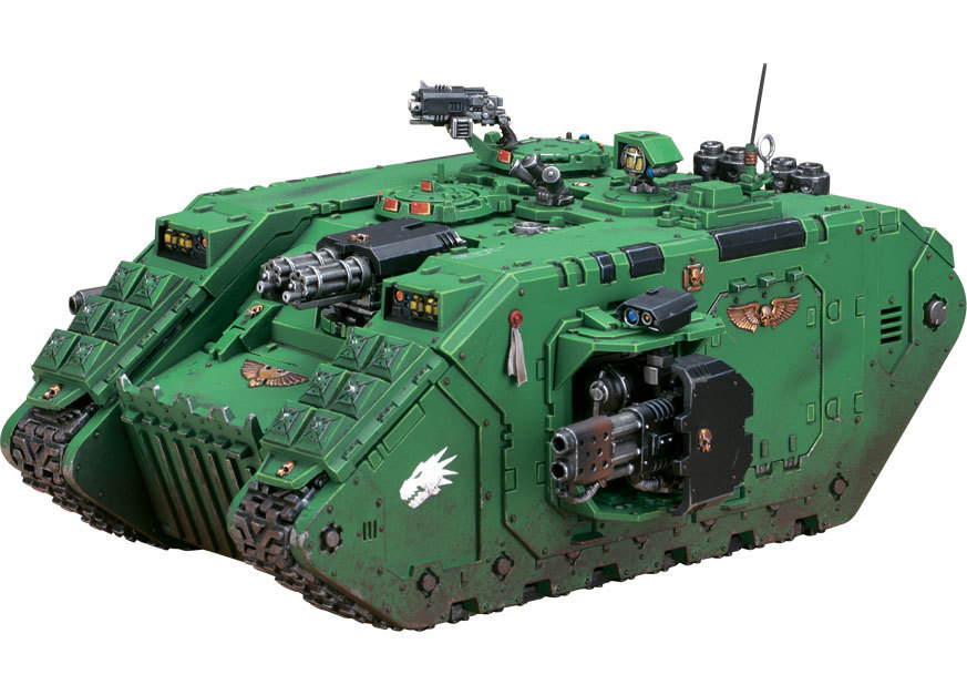 Space Marine Land Raider Crusader / Redeemer