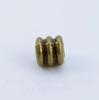 """Бусина металлическая """"Рельефная"""" (цвет - античная бронза) 5х5 мм, 10 штук"""