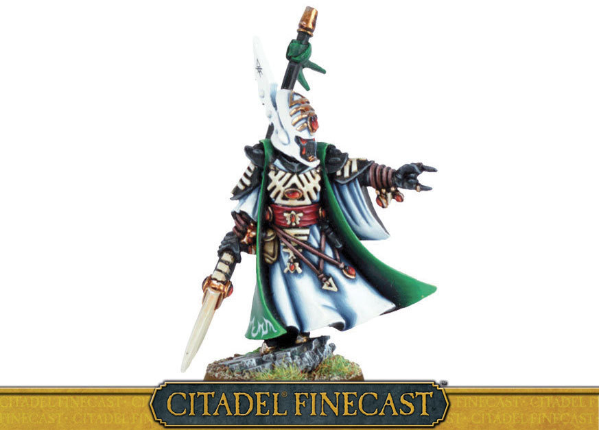 Eldar Farseer with Singing Spear