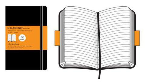 Moleskine Soft Large Ruled Notebook