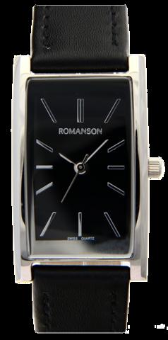 Купить Наручные часы Romanson DL2158C LW BK по доступной цене