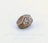 """Бусина металлическая """"Грани"""" (цвет - античная медь) 7х5 мм, 10 штук"""