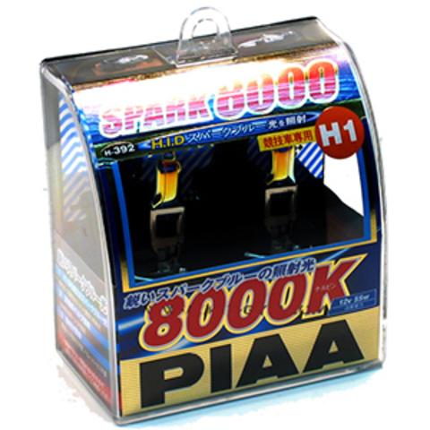 Галогенные лампы PIAA H1 H-392 (8000K) Spark