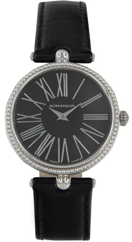 Купить Наручные часы Romanson RL0362 LW BK по доступной цене