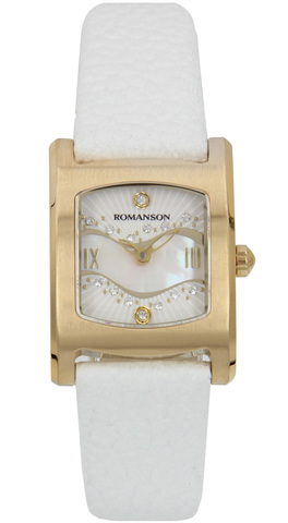 Купить Наручные часы Romanson RL1254 LG WH по доступной цене
