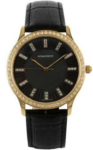 Купить Наручные часы Romanson RL0384T LG BK по доступной цене
