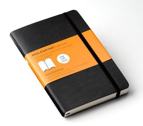 Moleskine Soft Pocket Ruled Notebook