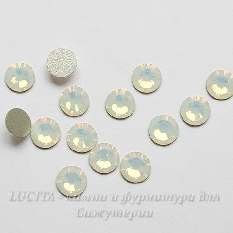 2058 Стразы Сваровски холодной фиксации White Opal ss 20 (4,6-4,8 мм), 10 штук ()