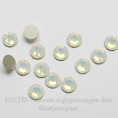 2058 Стразы Сваровски холодной фиксации White Opal ss 20 (4,6-4,8 мм), 10 штук