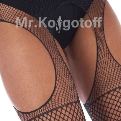 Колготки House of Holland Fishnet True Suspender Tights (AQJ6)