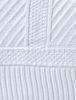 Плед детский 75х100 Luxberry Lux 1401 белый
