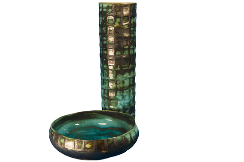 Элитная ваза декоративная Ocean Secrets от S. Bernardo
