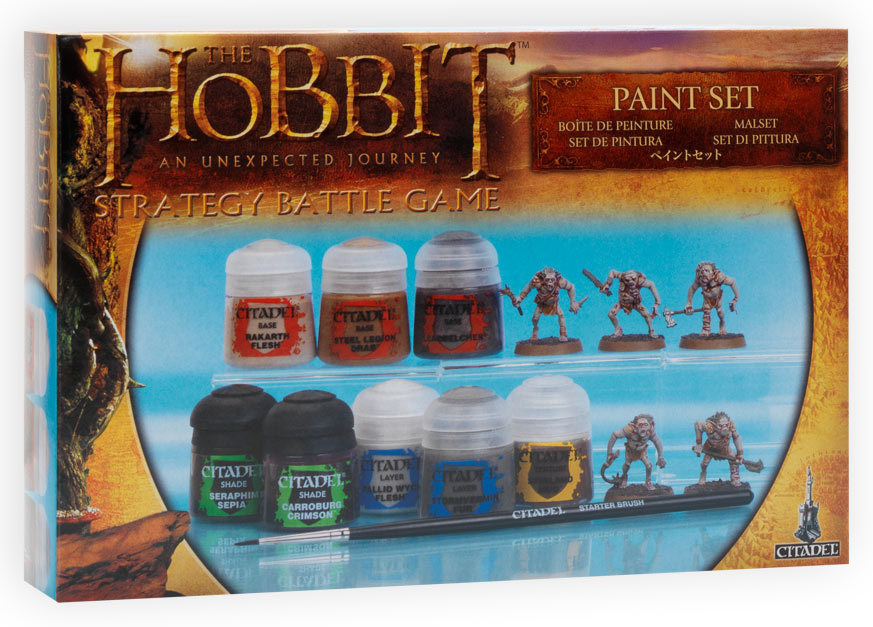 The Hobbit: An Unexpected Journey Paint Set