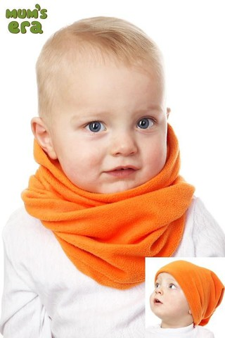 Повязка труба детская, оранжевая