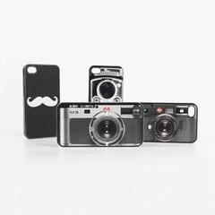 Чехол Leica и Усы для iPhone 4/4S и 5/5s и 6