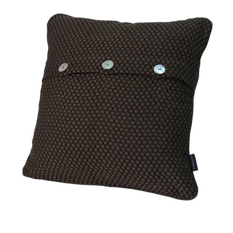 Элитная подушка декоративная Fresno шоколадная от Casual Avenue