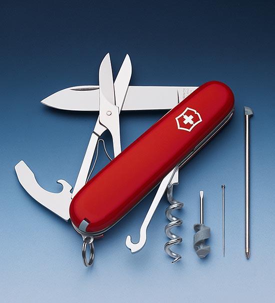 Швейцарский нож Victorinox Compact красный (1.3405)