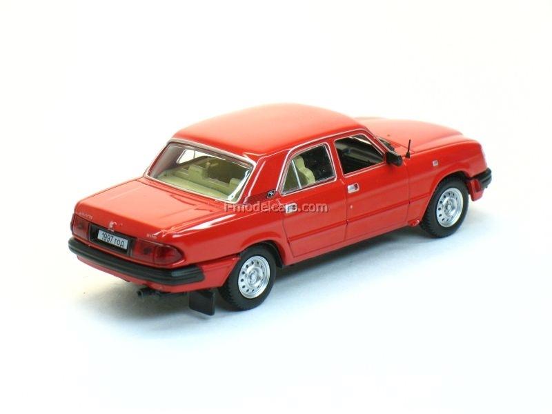 GAZ-3110 Volga 1997 red 1:43 Nash Avtoprom