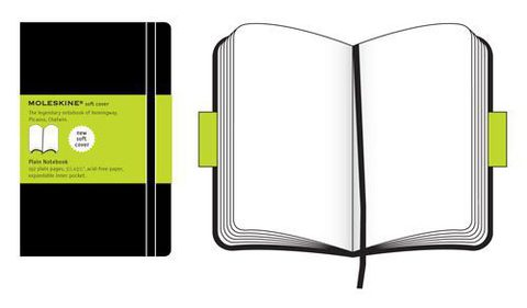 Moleskine Soft Pocket Plain Notebook
