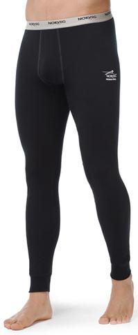 Термобелье Кальсоны Norveg Soft Pants мужские чёрные
