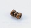 Бусина металлическая трубочка (цвет - античная медь) 6х4 мм , 20 штук