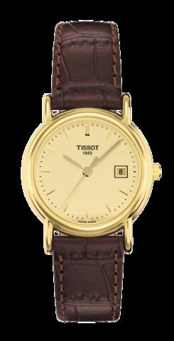 Купить Женские швейцарские золотые часы Tissot T-Gold Carson T71.3.129.21 по доступной цене