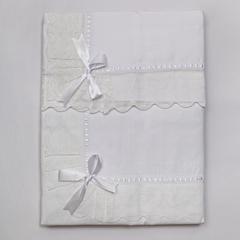 Постельное белье 2 спальное евро Old Florence Buratto белое