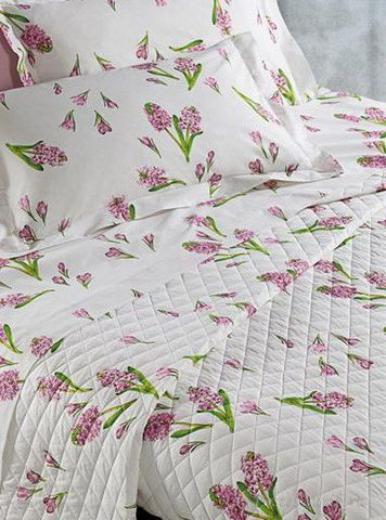 Постельное белье 1.5 спальное Mirabello Primi Fiori розовое