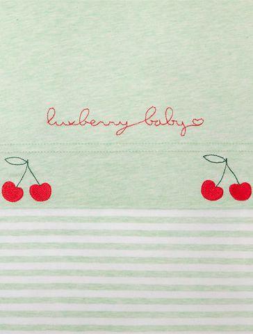Детское постельное белье трикотажное Luxberry Вишенки