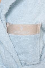 Элитный махровый халат Golf голубой от Trussardi