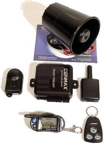 Автомобильная сигнализация Cenmax Vigilant New