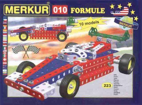 Merkur M-010 Металлический конструктор Гоночный автомобиль