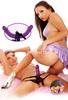 Двойной страпон для женщин Double Delight (15х3,8 см)