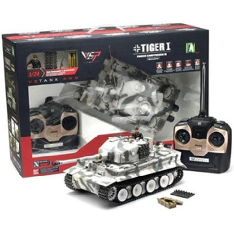 Радиоуправляемый танк VsTank Tiger 1 (стрельба, звук, детализация) (1:24) (код: A03102775)