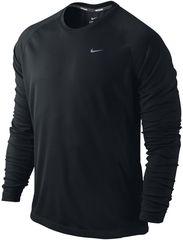 Мужская беговая футболка Nike Miler LS UV Top (519700 010)