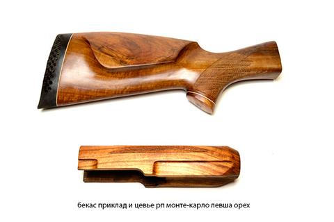 бекас приклад и цевье рп монте-карло левша орех
