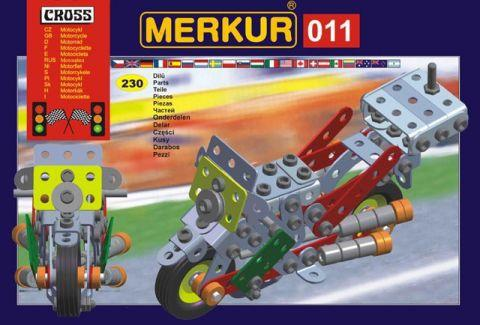 Merkur M-011 Металлический конструктор Мотоцикл