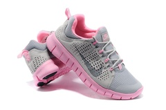 Кроссовки женские Nike Free Powerlines +2 Grey Creem Pink