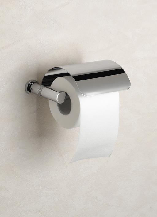 Держатель туалетной бумаги с крышкой 85351CR Ribbed от Windisch