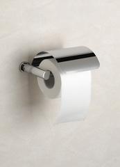 Держатель туалетной бумаги с крышкой Windisch 85351CR Ribbed