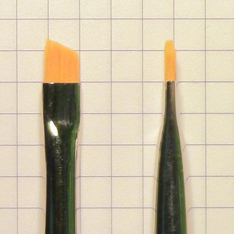 Кисть отводная №6 из синтетики махагон (арт. 301971006)