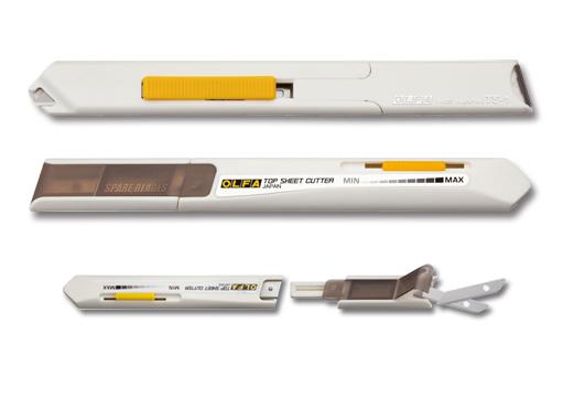 Нож TS-1 для худ и диз работ,спец, с ограничителем,для реза верхн листа