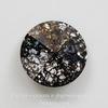 1122 Rivoli Ювелирные стразы Сваровски Crystal Black Patina (14 мм)