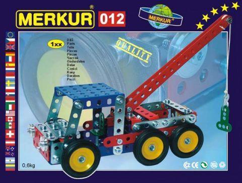 Merkur M-012 Металлический конструктор Сервисный автомобиль